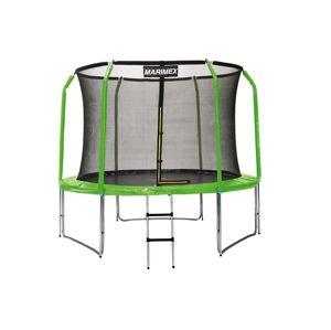 Marimex Sada krytu pružin a rukávů pro trampolínu 366 cm - zelená - 19000782
